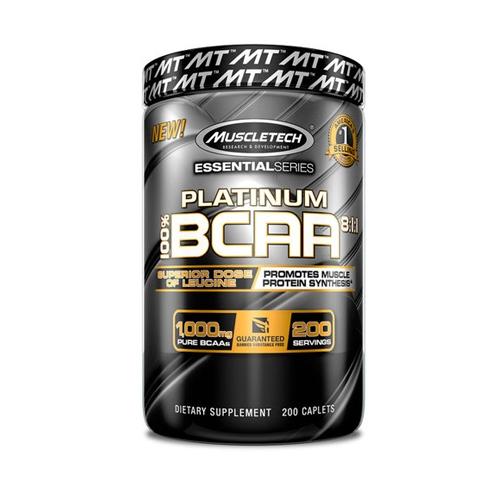 Muscletech Essential Series Platinum BCAA 8:1:1 (200)