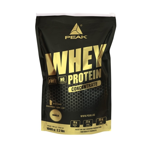 Peak Whey Protein Concentrate (1000 g)
